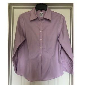 Brooks Brothers Fitted Button Down Blouse